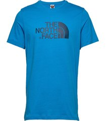 m s/s easy tee t-shirts short-sleeved blå the north face