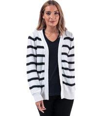 womens stripe cardigan
