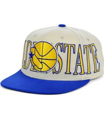 mitchell & ness golden state warriors hardwood classic winners circle snapback cap