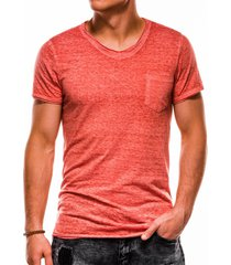 ombre heren t-shirt s1051 coral