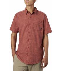 camisa hombre under exposure yd coral columbia