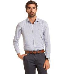 camisa business print adak gris ferouch