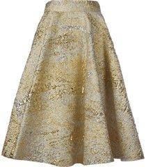 dolce & gabbana jacquard long skirt