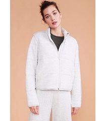 lou & grey signaturesoft plush puffer jacket