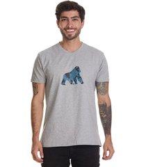 t-shirt básica goco-gris