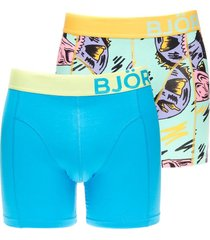 bjorn borg boxer 2-pack cotton stretch pool