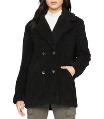 sanctuary autumn faux-fur peacoat