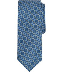 corbata connected bits print azul brooks brothers