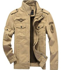 high quality winter army jeans jacket