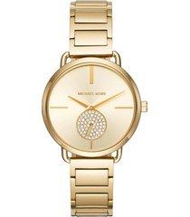 reloj fashion dorado michael kors