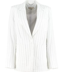 michael michael kors single-breasted two-button blazer