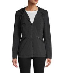 full-zip hooded jacket