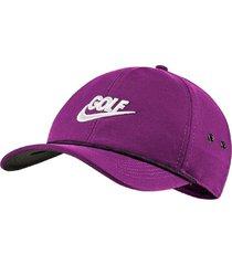 gorra de golf nike aerobill classic99-violeta