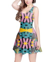 ragdoll patchwork sally sleeveless dress
