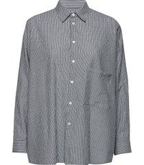 elma shirt overhemd met lange mouwen blauw hope