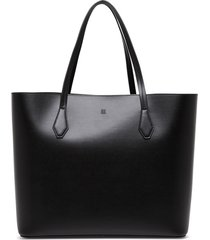 givenchy wing shopper in black smooth leather