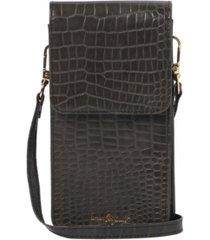 urban originals crocodile vegan leather phone wallet