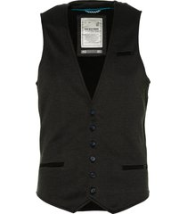no excess gilet - modern fit - grijs