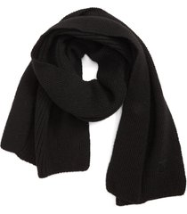 canada goose textured wool scarf in black at nordstrom
