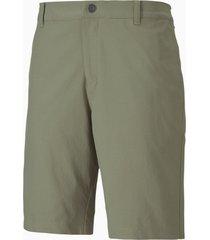 jackpot woven golf shorts voor heren, groen, maat 33 | puma