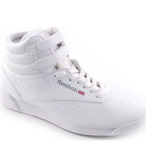 zapatilla blanca reebok freestyle high