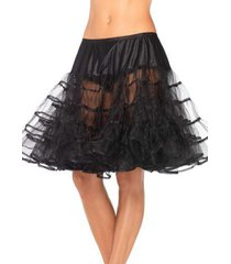 83043 (black) crinoline petticoat knee length