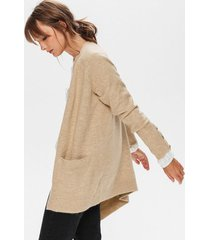 długi dzianinowy sweter