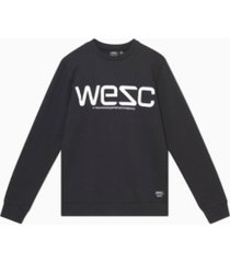 men's miles wesc reflective sweatshirt