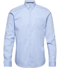 fitted easyc skjorta casual blå tom tailor