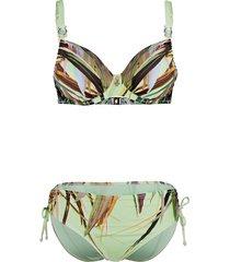 bikini opera groen/multicolor