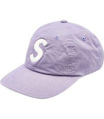 supreme gore-tex s-logo 6-panel cap - purple