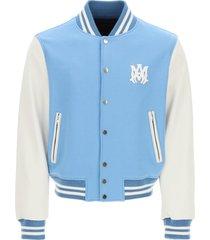 amiri letterman varsity bomber jacket