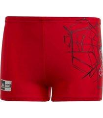 traje de baño roja adidas spiderman