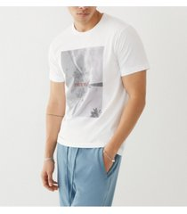 men's palm tree short sleeve crewneck tee