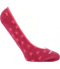 calcetín algodón stars rosa mujer hush puppies