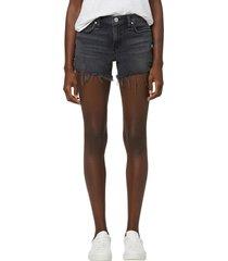 hudson jeans gemma denim cutoff shorts, size 34 in lady luck at nordstrom