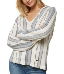 o'neill juniors' campfire striped hoodie