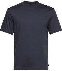 ace mock neck t-shirt t-shirts short-sleeved blauw j. lindeberg