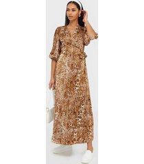 co'couture daria wrap dress maxiklänningar