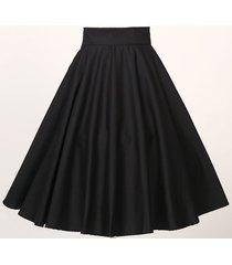 new women black suspender skirt adjustable strap swing skirt flippy skirt