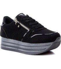 zapatos para mujer marca xti xti - negro