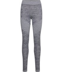 free recy women's seamless base layer pants base layer bottoms grå halti