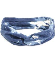 headband bijoulux turbante azul