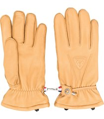 rossignol urban sheepskin gloves - neutrals