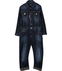 dsquared2 denim jumpsuit teen