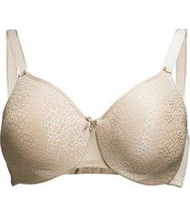 co bra moulded lingerie bras & tops full cup beige chantelle