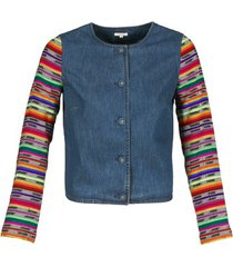 blazer manoush indian denim