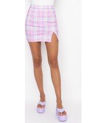akira because i can mini plaid skirt