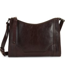 melissa leather crossbody bag