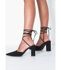 nly shoes block strap pump pumps